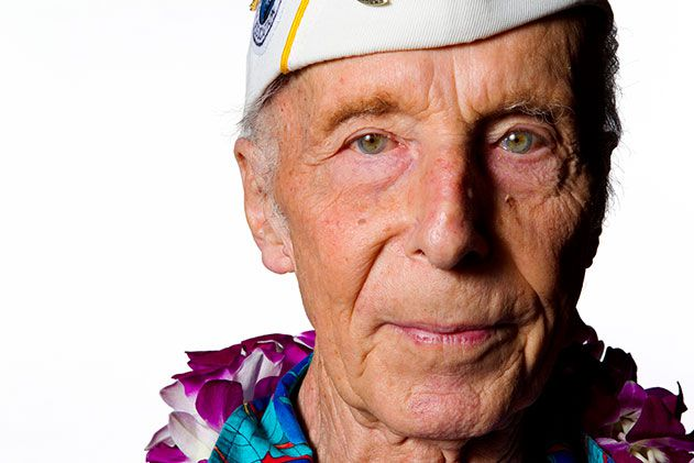 Richard Laubert Pearl Harbor survivor