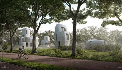 Netherlands Will Welcome Its First Community of 3D-Printed Homes