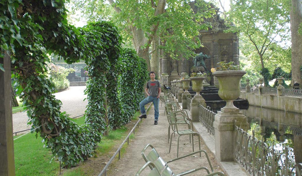 Swap your own brew for a bottle of Pelforth Brune hidden at the Luxembourg Gardens in Paris.