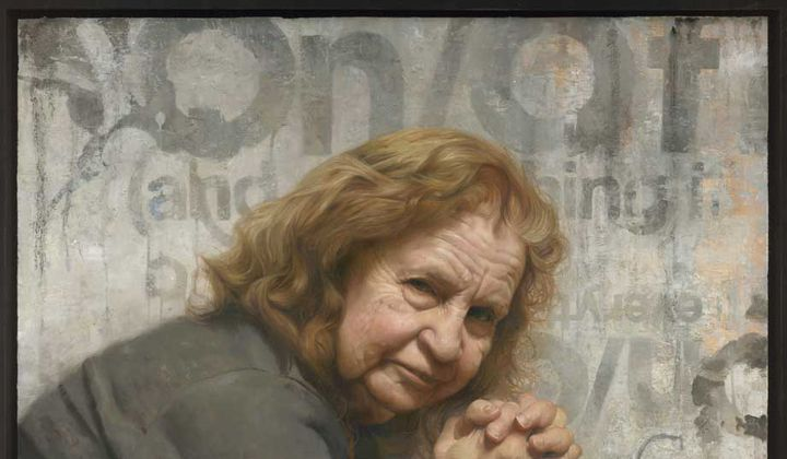 Portrait of My Mom, Roberta / By David Kassan / Oil on panel, 2010 / Collection of Robin and Michael Wilkinson