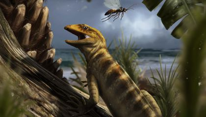 Oldest Lizard Fossil Shows These Reptiles Are The Ultimate Survivors