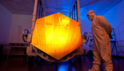 Infrared Dawn: The Next Space Telescope Will Be Hubble x 100