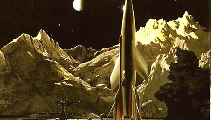 Chesley Bonestell and the Landscape of the Moon