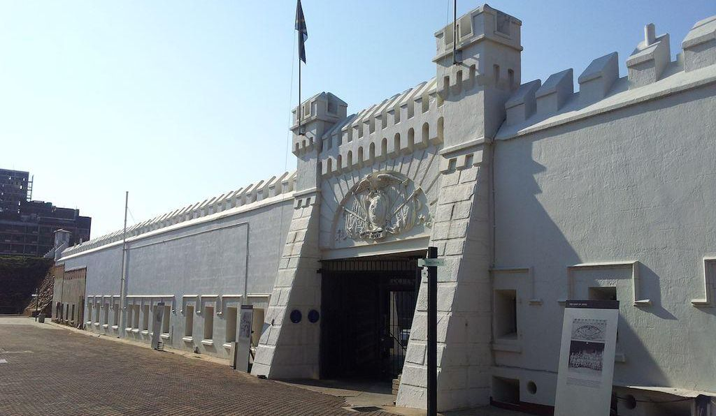 The Old Fort at Constitution Hill.