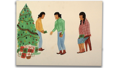 Christmas across Indian Country