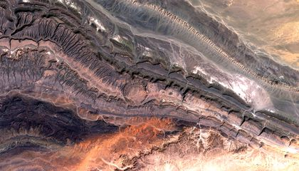 Crater and the Continental Collision