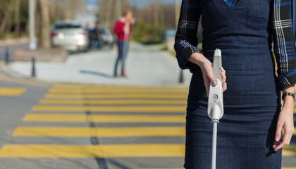 This Smart Cane Helps Blind People Navigate