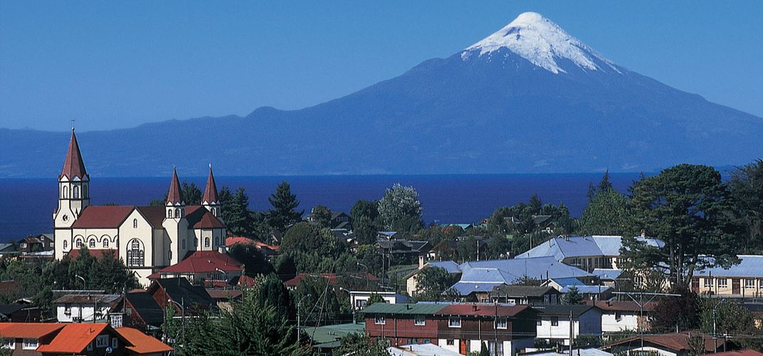 Puerto Varas in the Lake District of Chile