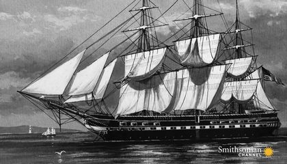 This 1812 American Frigate Could Take a Direct Cannon Hit