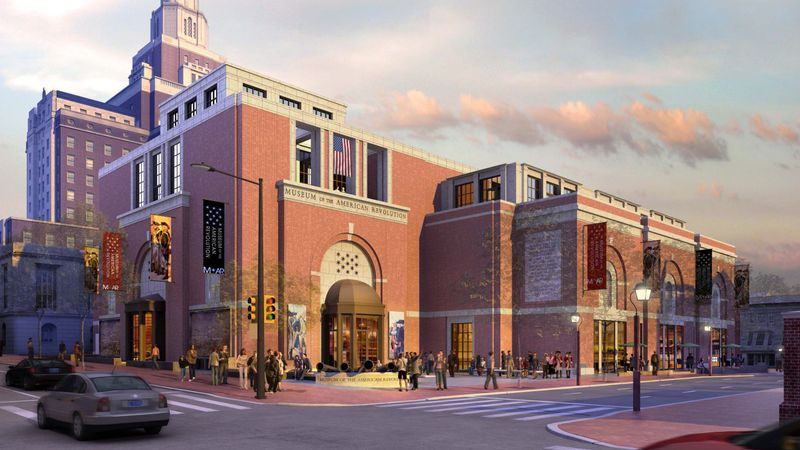 The upcoming Museum of the American Revolution.