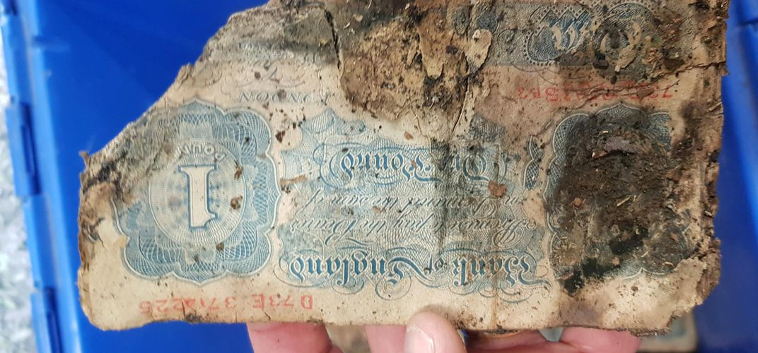 Caption: $2 Million World War II-Era Cash Hoard Found