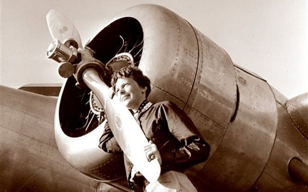 Film appears from before Amelia Earhart disappeared