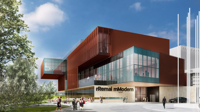 A rendering of Remai Modern.