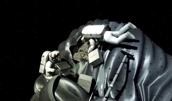 Preview thumbnail for video'Asteroid Retrieval Mission
