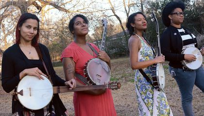 Why These Four Banjo-Playing Women Resurrected the Songs of the Enslaved