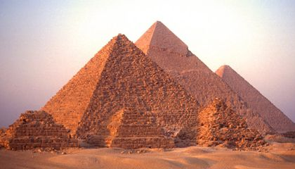 Ponder the Pyramids of Giza
