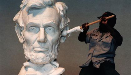 Caption-Writing Contest! Win a Collector's Edition of Smithsonian's Lincoln Magazine