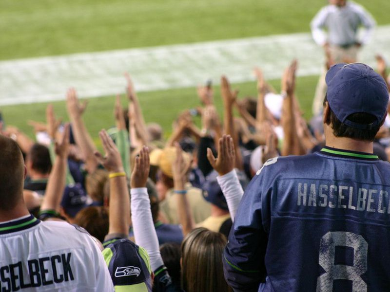 Seattle Seahawk Fans Call Touchdown