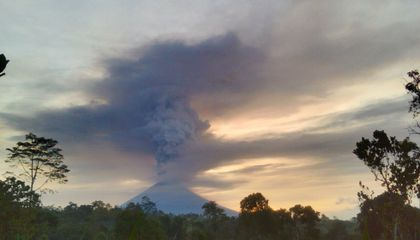 The Geology of Bali's Simmering Agung Volcano