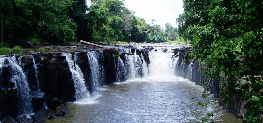 Phasoume Waterfall Bolaven Plateau, Laos