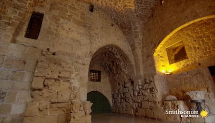 Was This Hidden Tunnel Used by the Knights Templar?