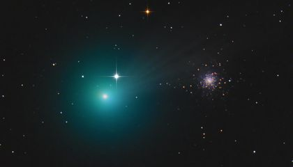 How to See This Green Comet With the Naked Eye