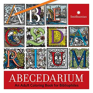 Preview thumbnail for 'Abecedarium: An Adult Coloring Book for Bibliophiles
