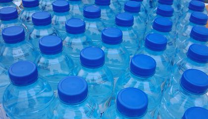 Study Finds Microplastics in More than 90 Percent of Tested Water Bottles