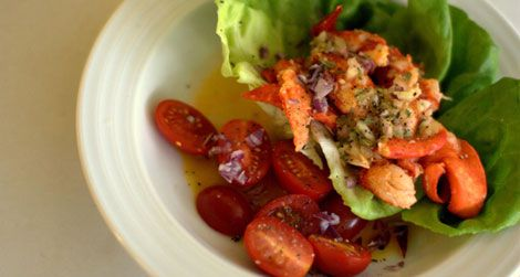 Summer lobster salad