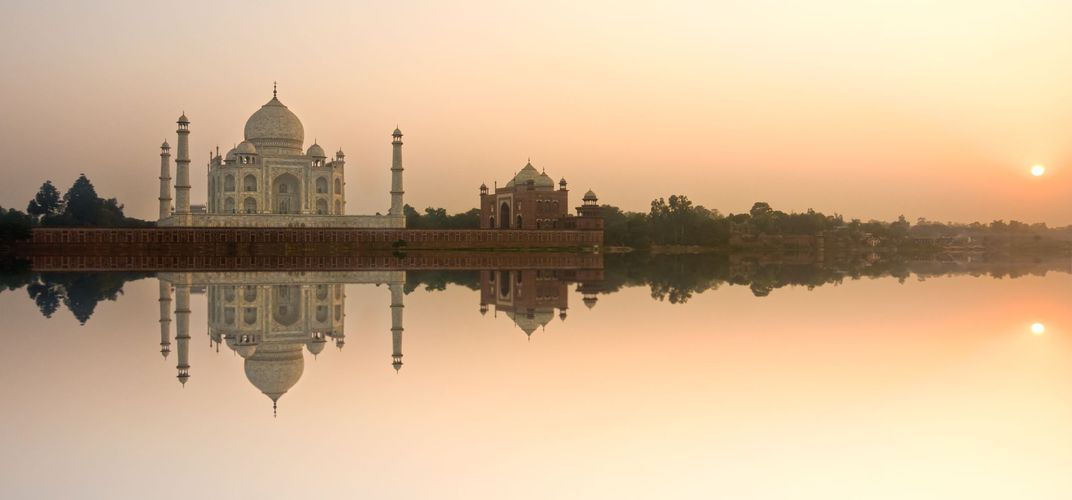 The ethereal Taj Mahal