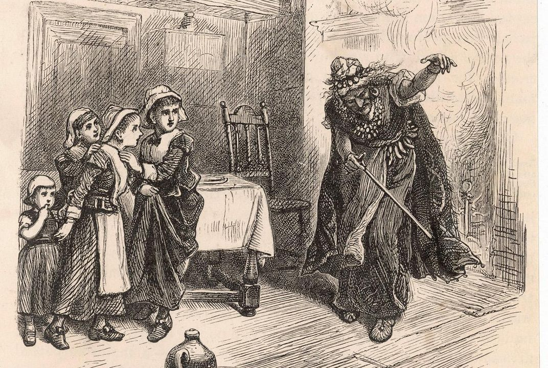 history channel salem witch trials video