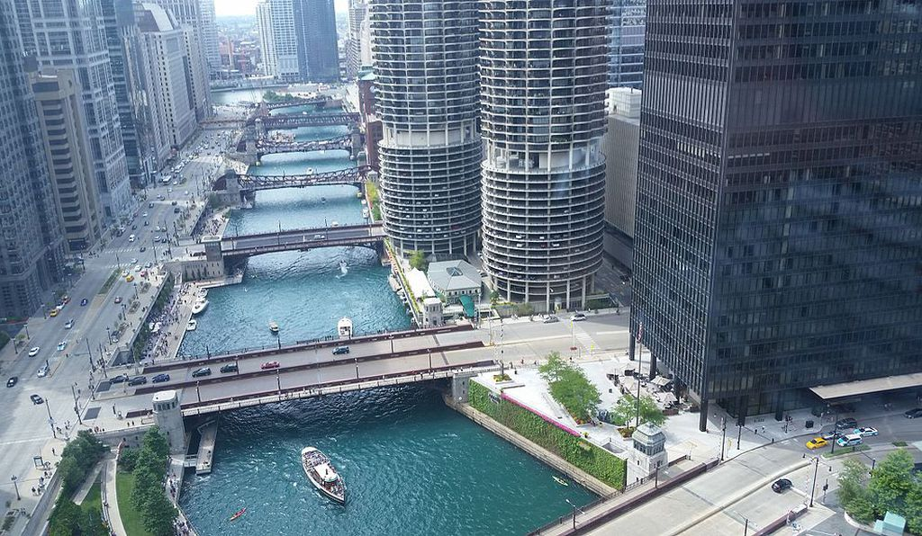 The Chicago River in 2015