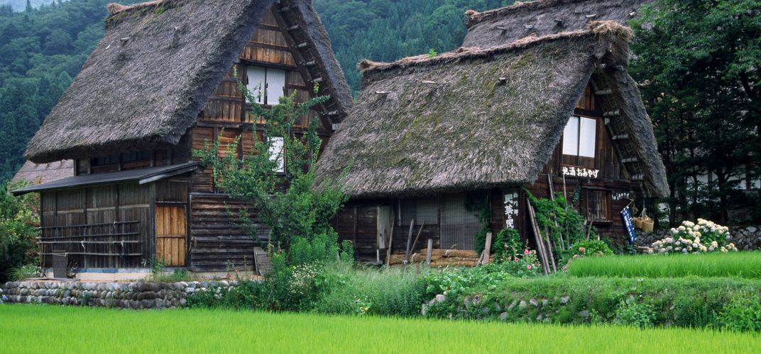 The historic houses of Shirakawa-go