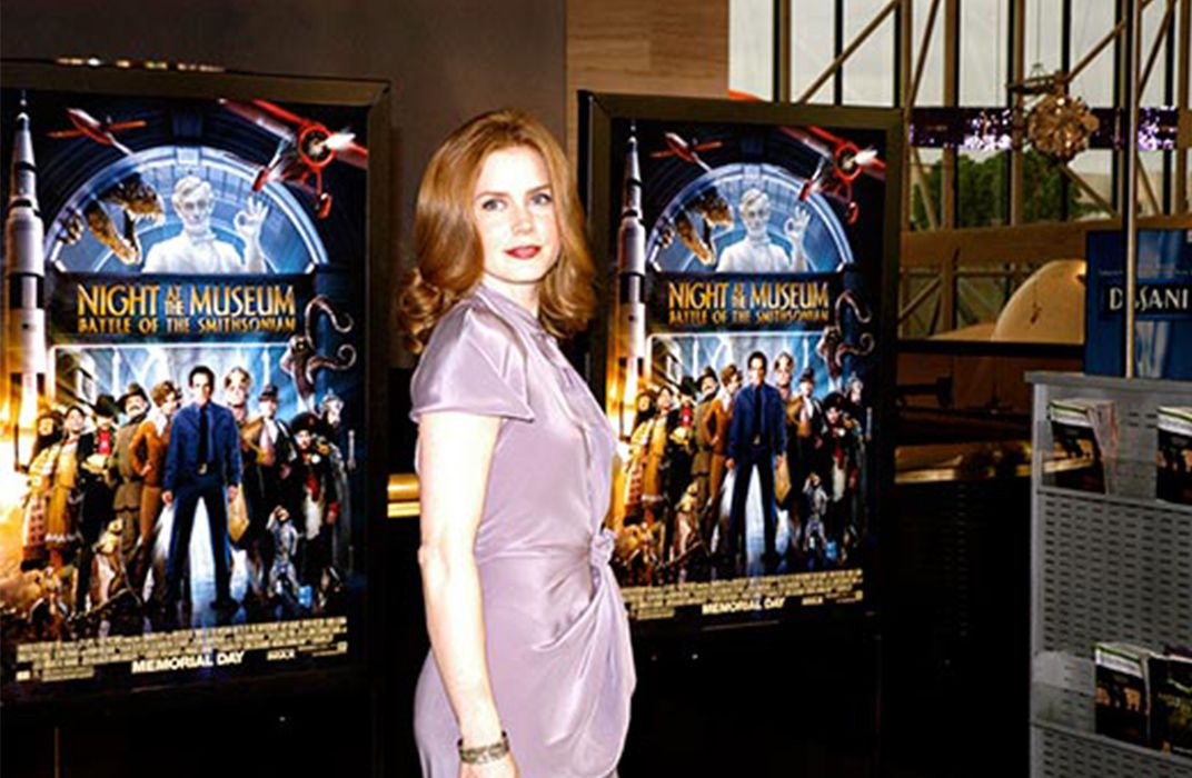 Scenes From The Night At The Museum Premiere Featuring Robin