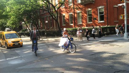 People Use Bike Shares to Get to Work And Parties