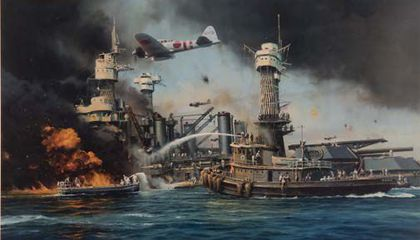 pearl harbor illustration