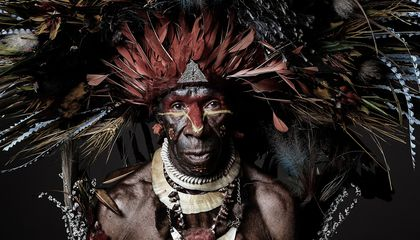 Striking Photos of the Past and Present of Papua New Guinea