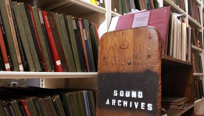 The Boston Public Library Is Digitizing 200,000 Vintage Recordings