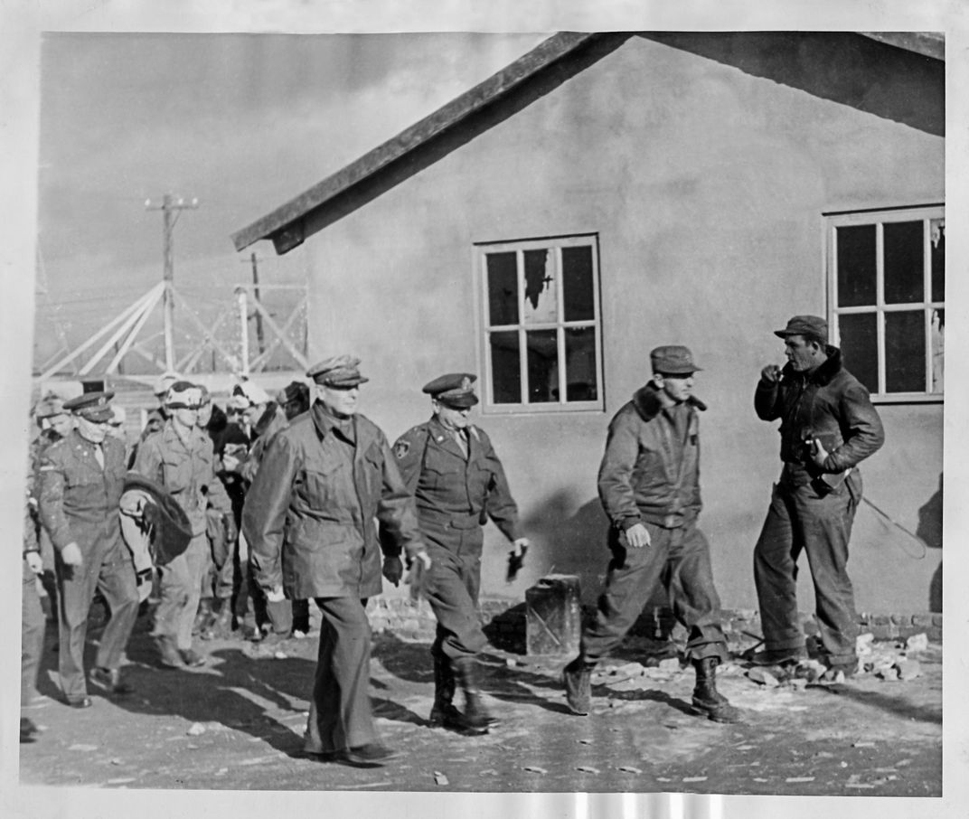 General Douglas MacArthur Third From Left Tours Kimpo Air Base In Seoul South Korea December 1950 At The Time Headed United Nations