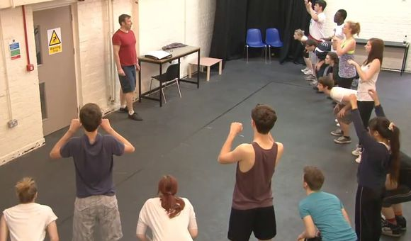 Preview thumbnail for video'A Cycle Opera Rehearsal