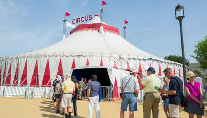 Step Right Up to the Big Top Circus Tent at the 50th Annual Folklife Festival