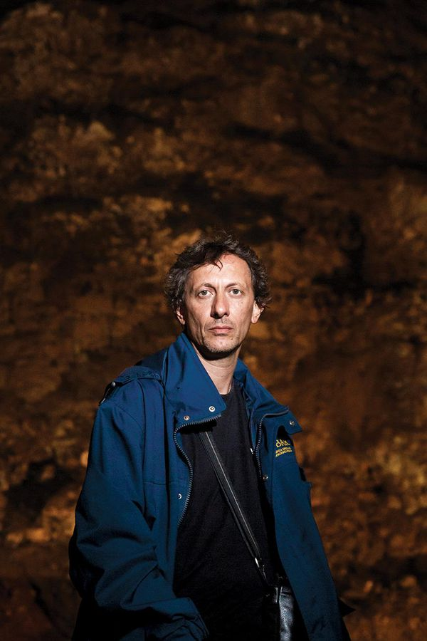 Archaeologist Alessandro D'Alessio
