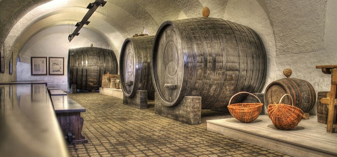 Old wine cellar in Croatia