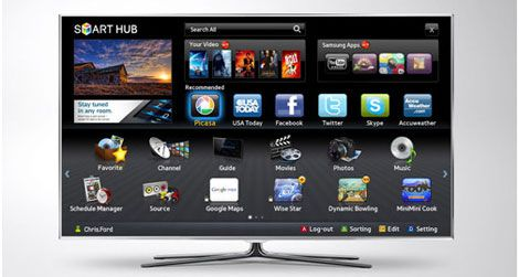 The Samsung Smart TV