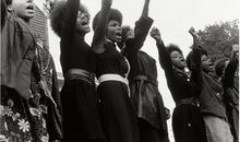 Rank and File Women of the Black Panther Party