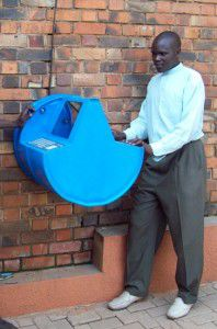UNICEF's Digital Drum, which provides information and internet access in Uganda.