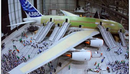 A Ride on the World's Largest Passenger Jet