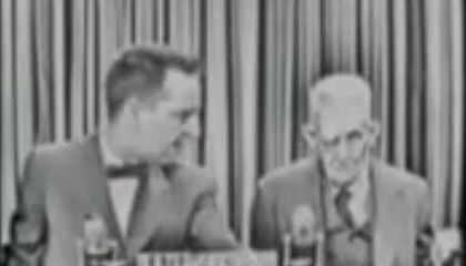 1950s Game Show Guest Had a Secret: He Saw Lincoln's Assassination