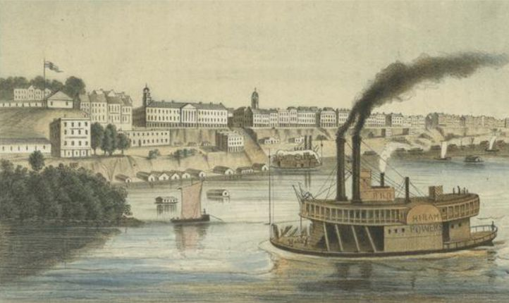 Memphis in the mid-1850s