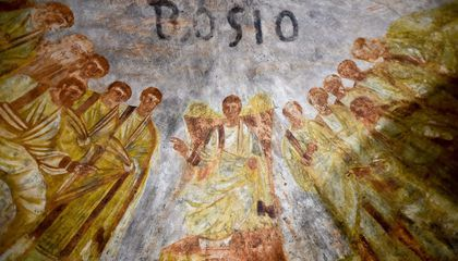 Restored Roman Catacombs Reveal Stunning Frescoes